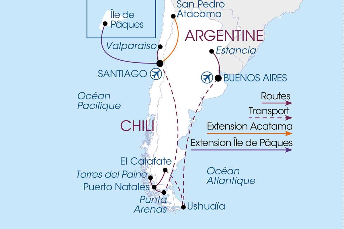 Circuit De L Argentine Au Chili Tui