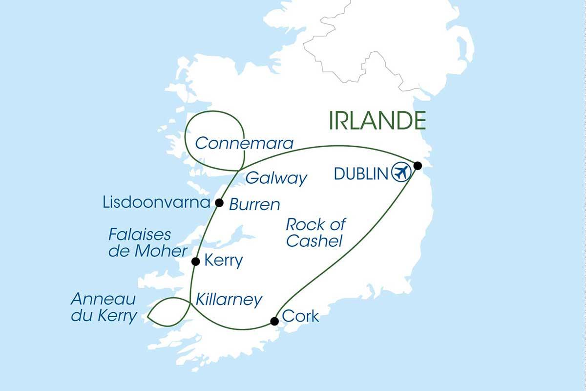 Circuit Magie d'Irlande - voyage  - sejour