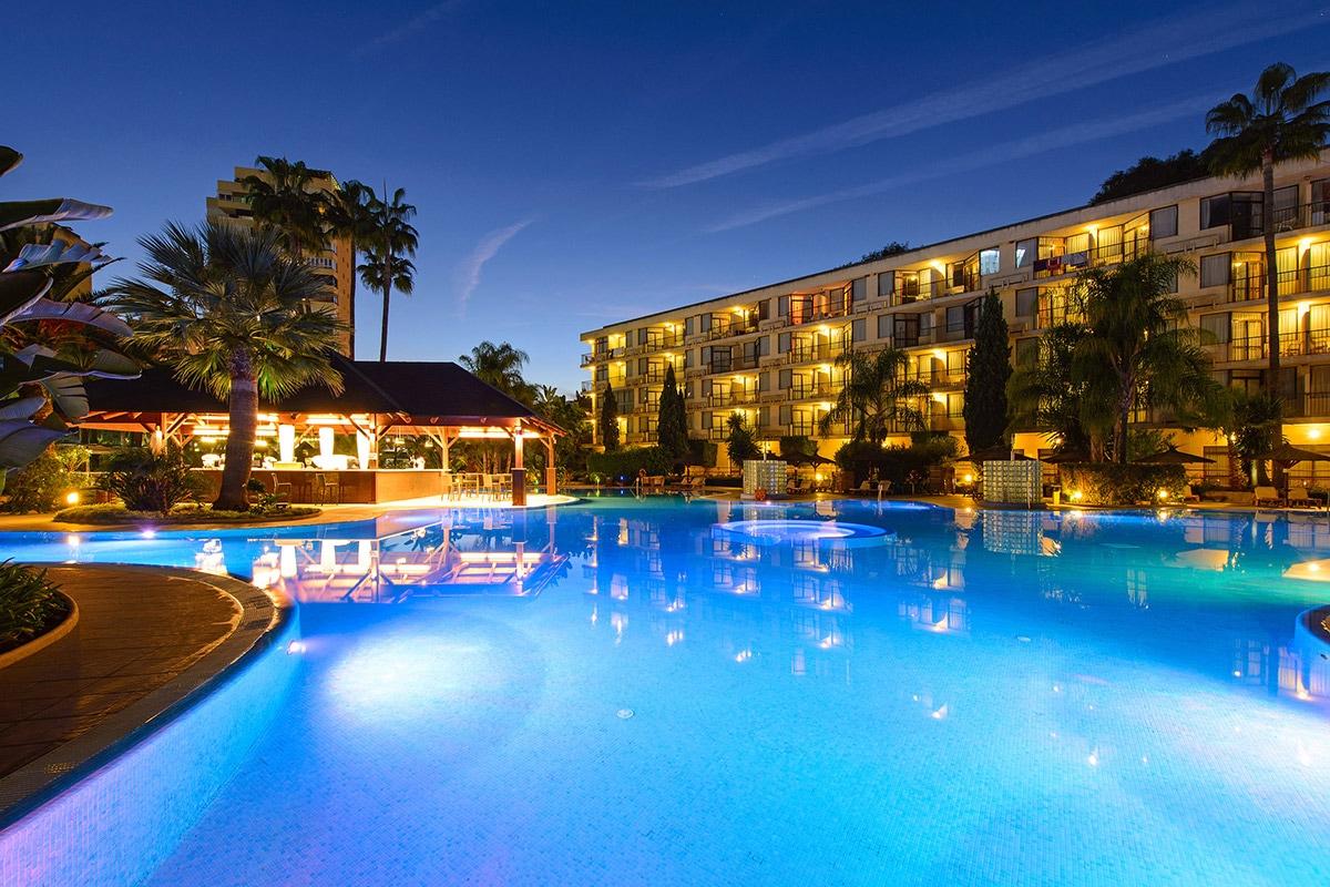 Hotel le sol principe 4 torremolinos andalousie for Casino piscine hors sol