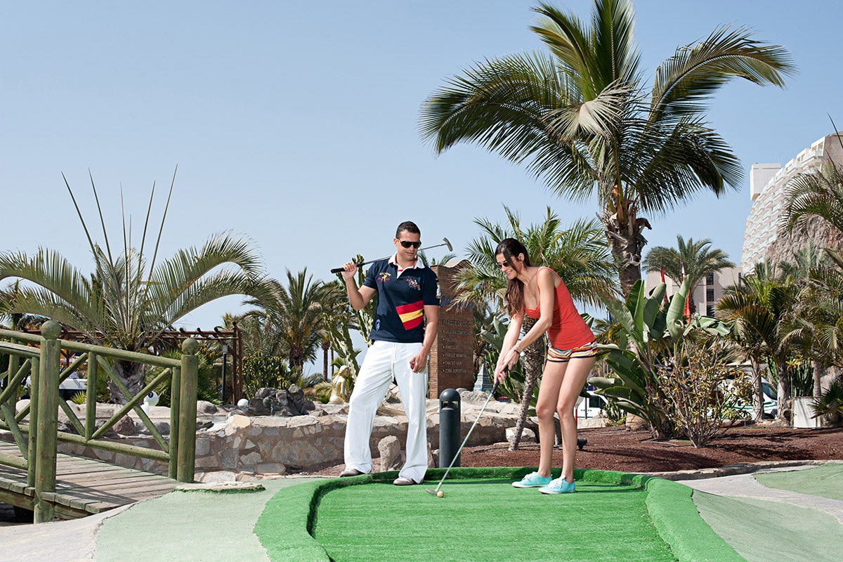 ESPGSPL8 mini golf splashworld valle taurito sejour aux canaries tui