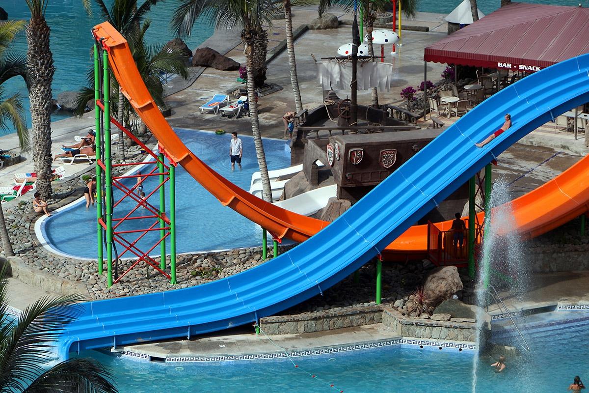 ESPGSPL8 piscine toboggans splashworld valle taurito vacances aux canaries tui