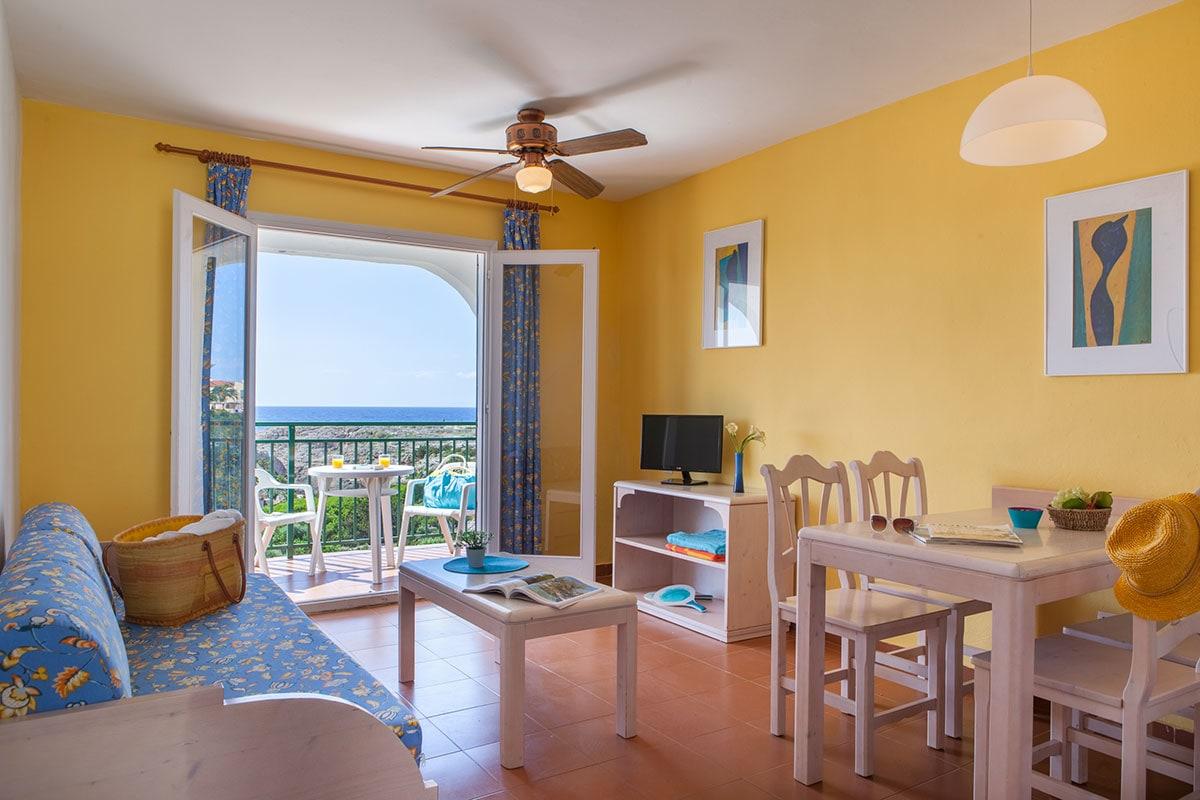 Appartement 2 chambres séparées vue mer