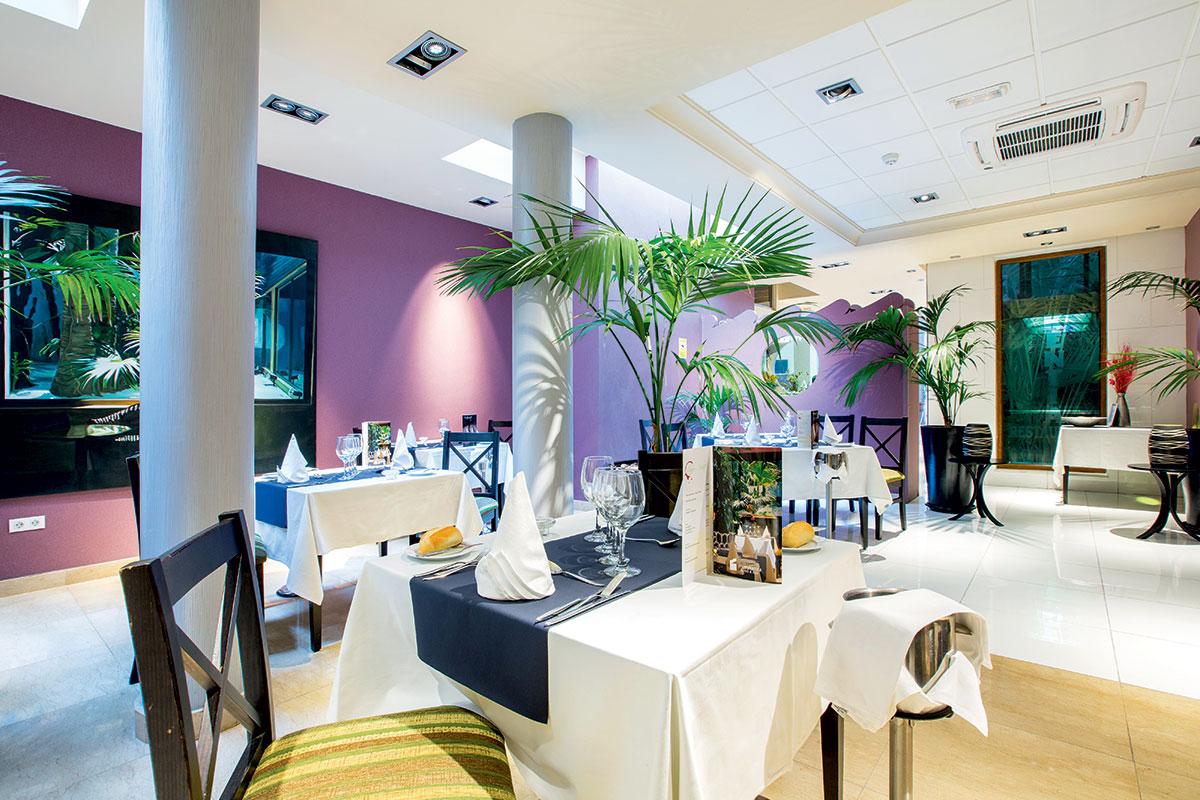 ESPTMAR restaurant sejours marylanza suite spa tenerife tui