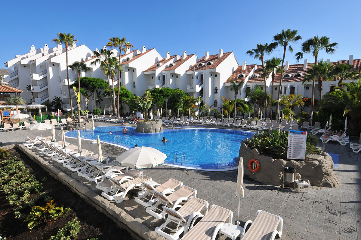 ESPTPAR batiment piscine sejours park paradise tenerife espagne tui