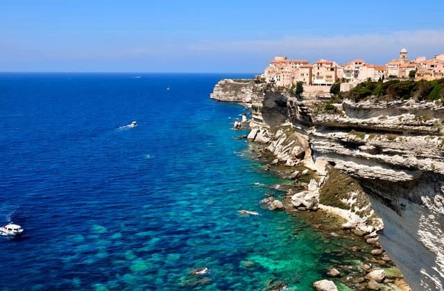 Bonifacio, Voyage en Corse