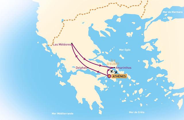 Combiné du Nord à l'île d'Eubée