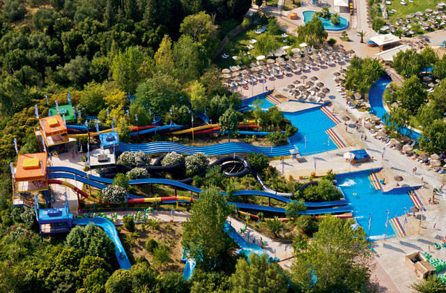 Splashworld Aqualand Village à Corfou