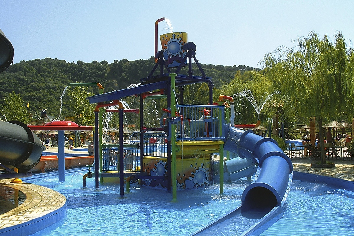 GREFAQU8 splashworld aqualand resort aquaparc enfants sejour corfou grece tui