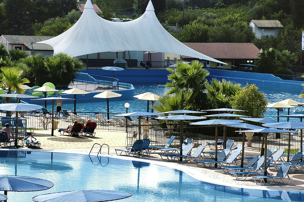 GREFAQU8 splashworld aqualand resort piscine sejour corfou grece tui