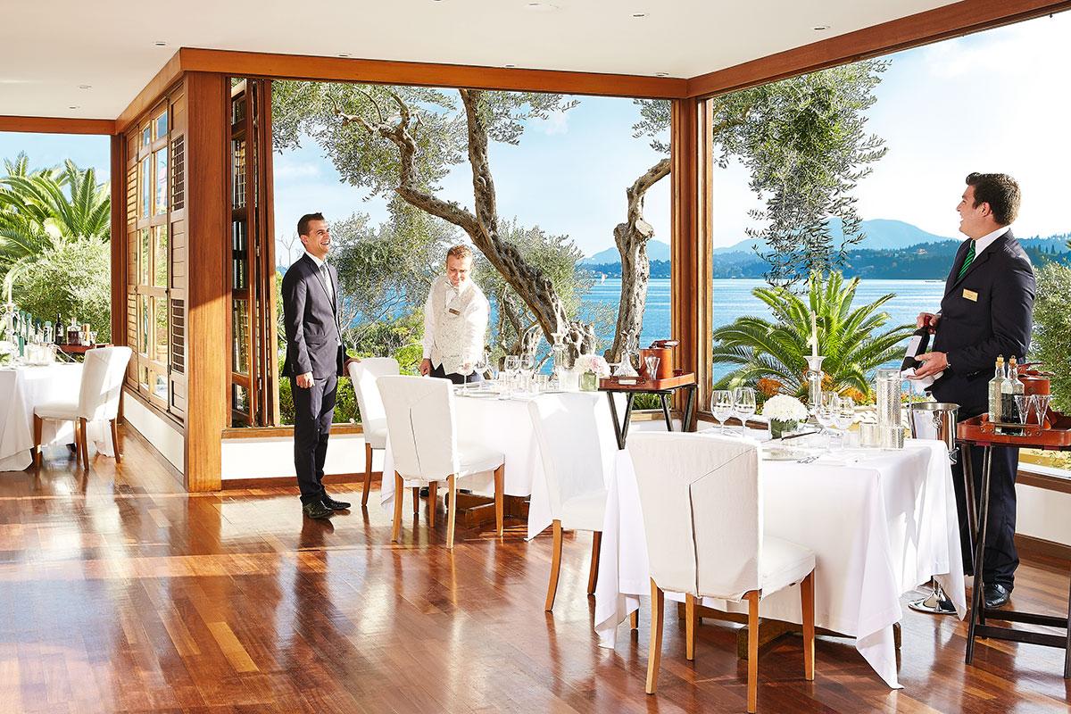 GREFIMP restaurant gourmet hotel corfu imperial grecotel sejour corfou grece tui