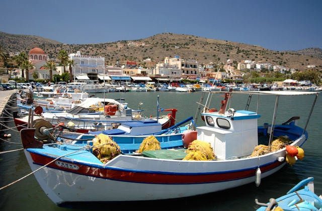 Le port d'Elounda
