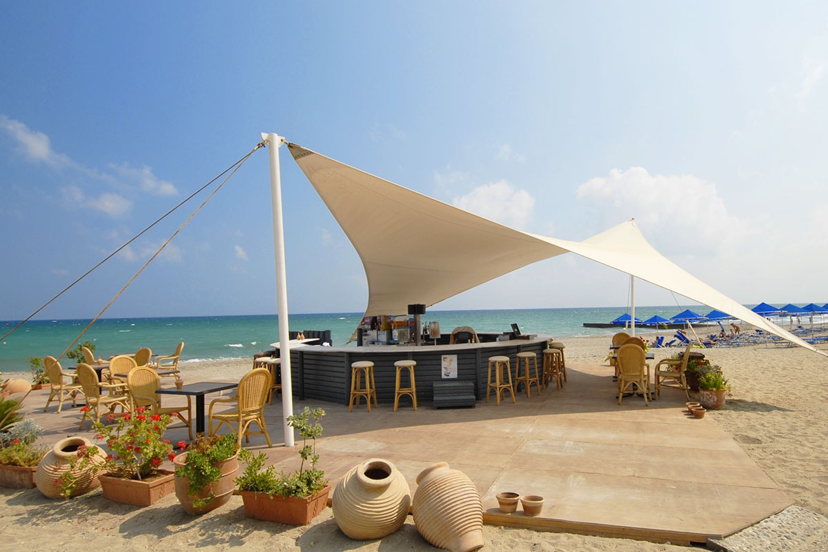 GREHRIT bar plage sejours rithymna beach crete tui