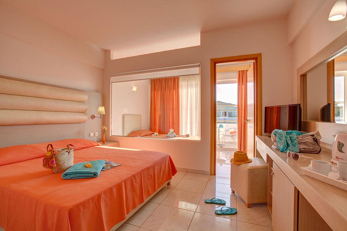 GREKZOR club marmara zorbas beach chambre triple sejour grece tui