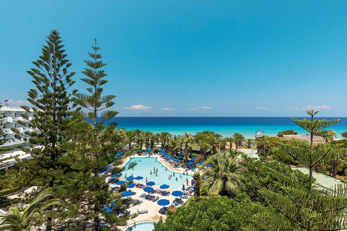 Hôtel Blue Horizon Palm Beach Hôtel & Bungalows