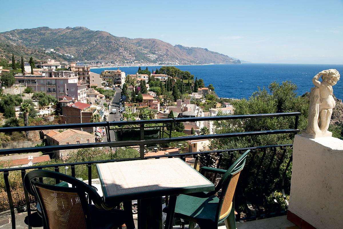 Balcon chambre vue mer