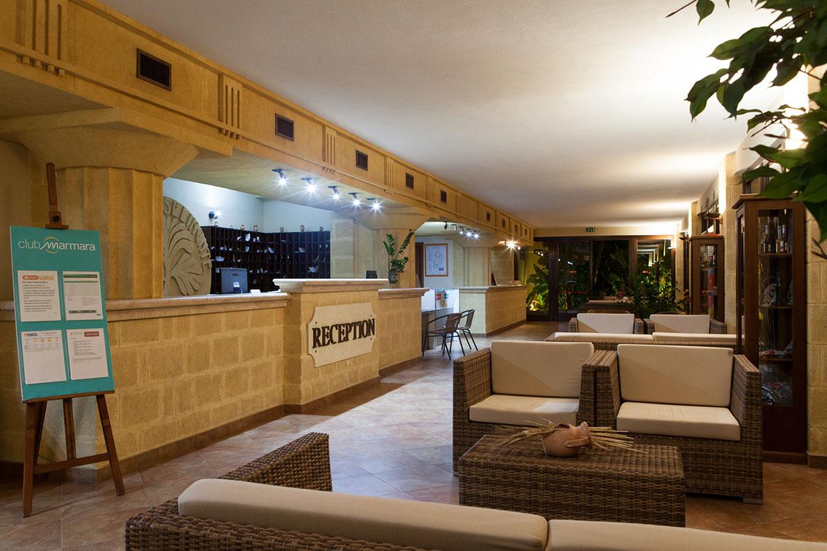ITAPSIC club marmara sicilia reception sejour sicile tui