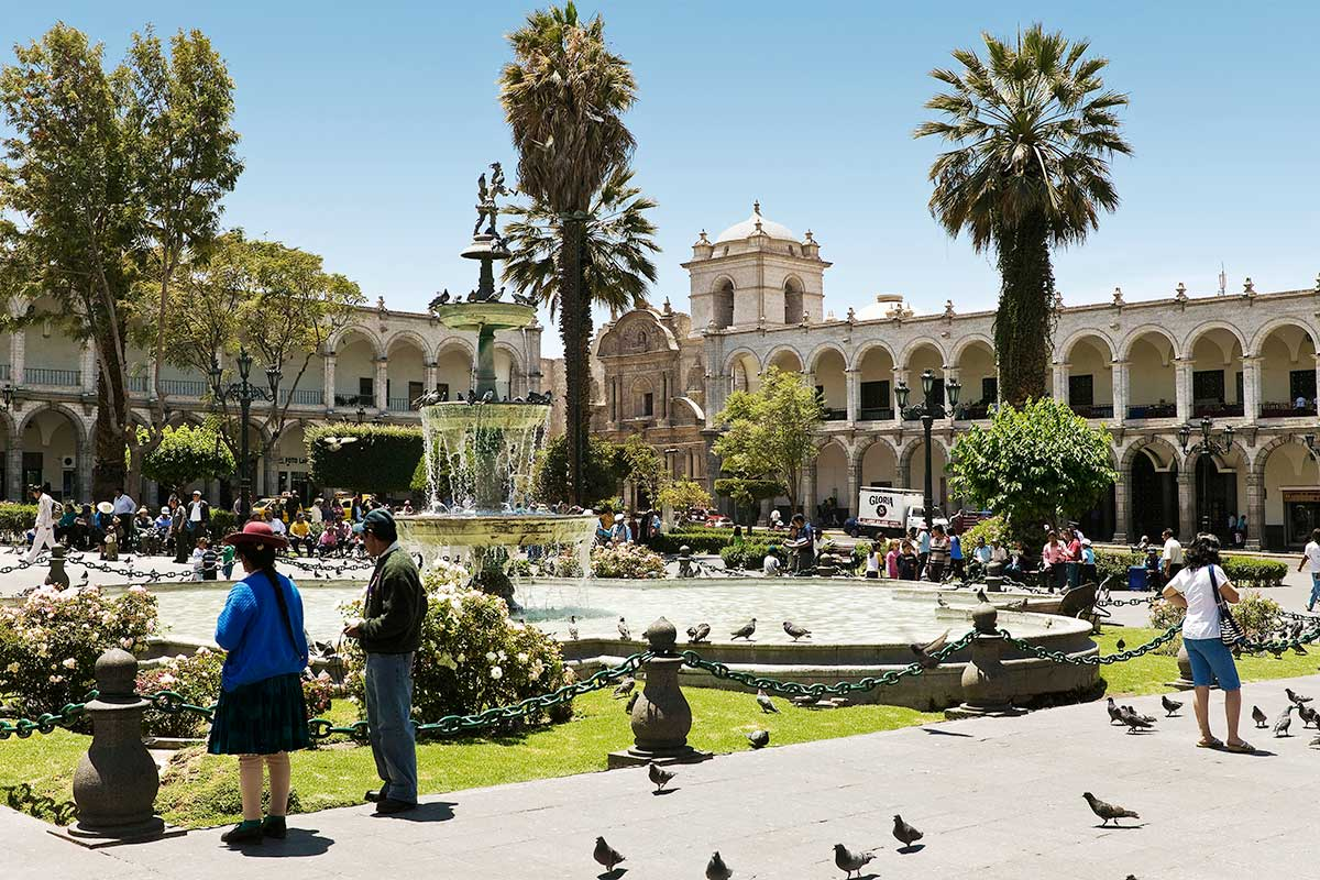 Place d'Armes, Arequipa