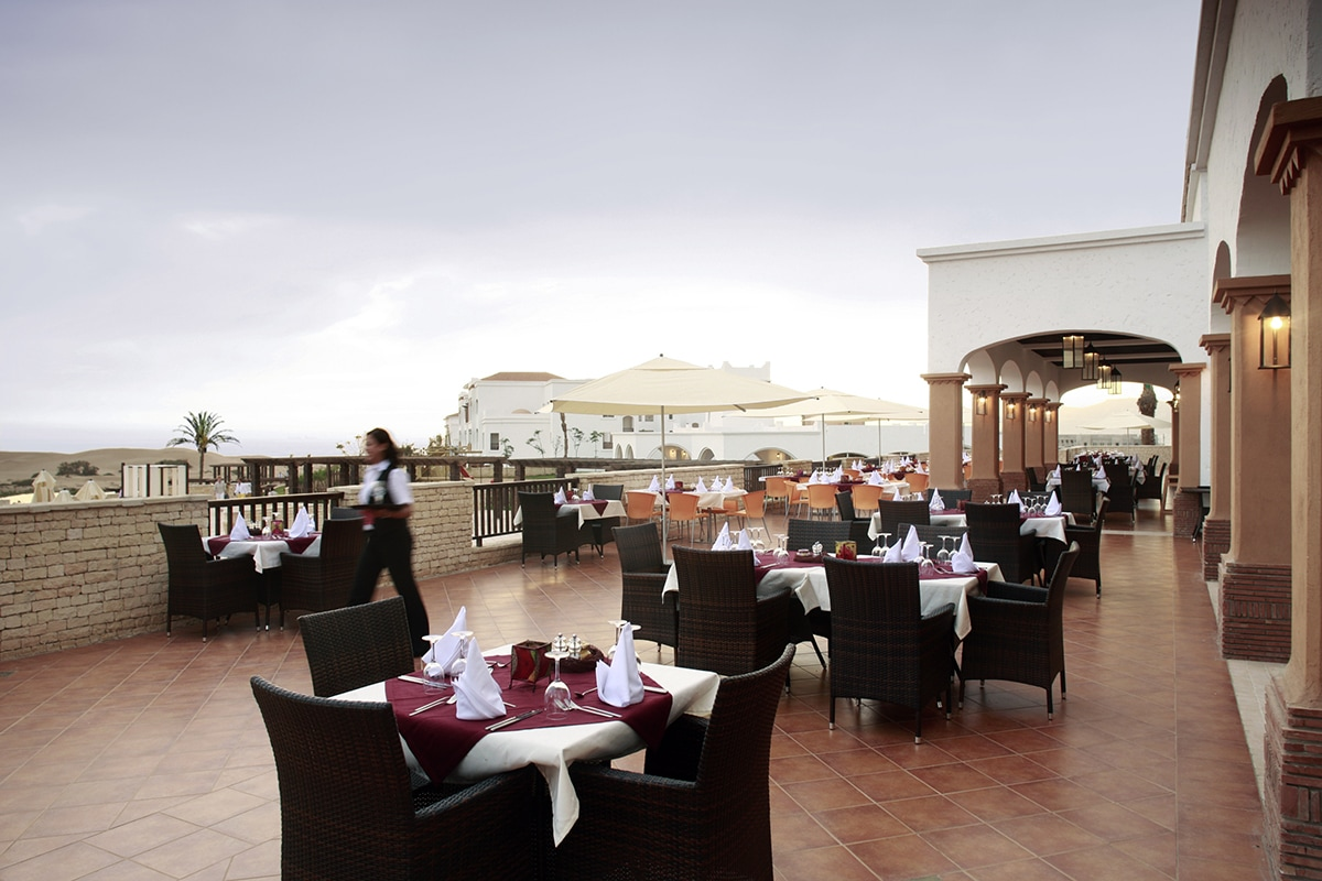 MARAGAD8 robinson club agadir terrasse restaurant sejour maroc tui