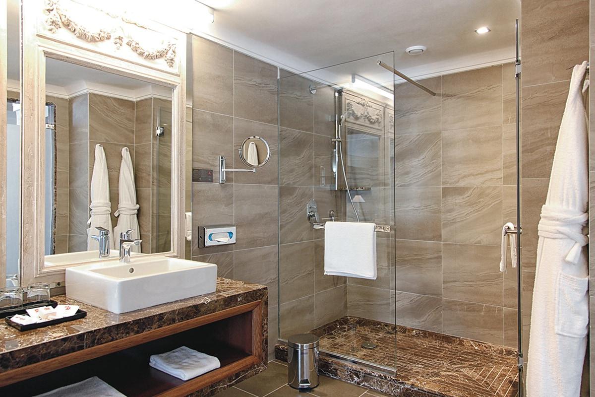 Junior suite - salle de douche