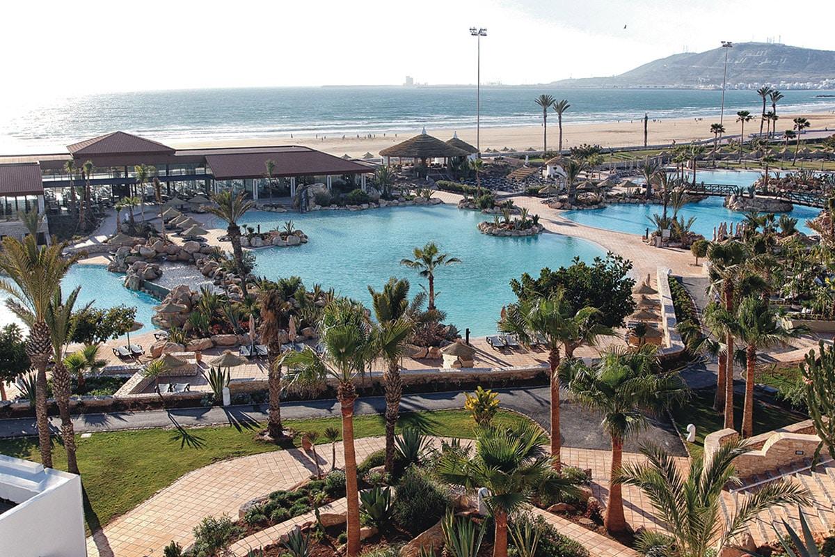MARATDU8 piscine club hotel riu tikida dunas voyage agadir maroc tui