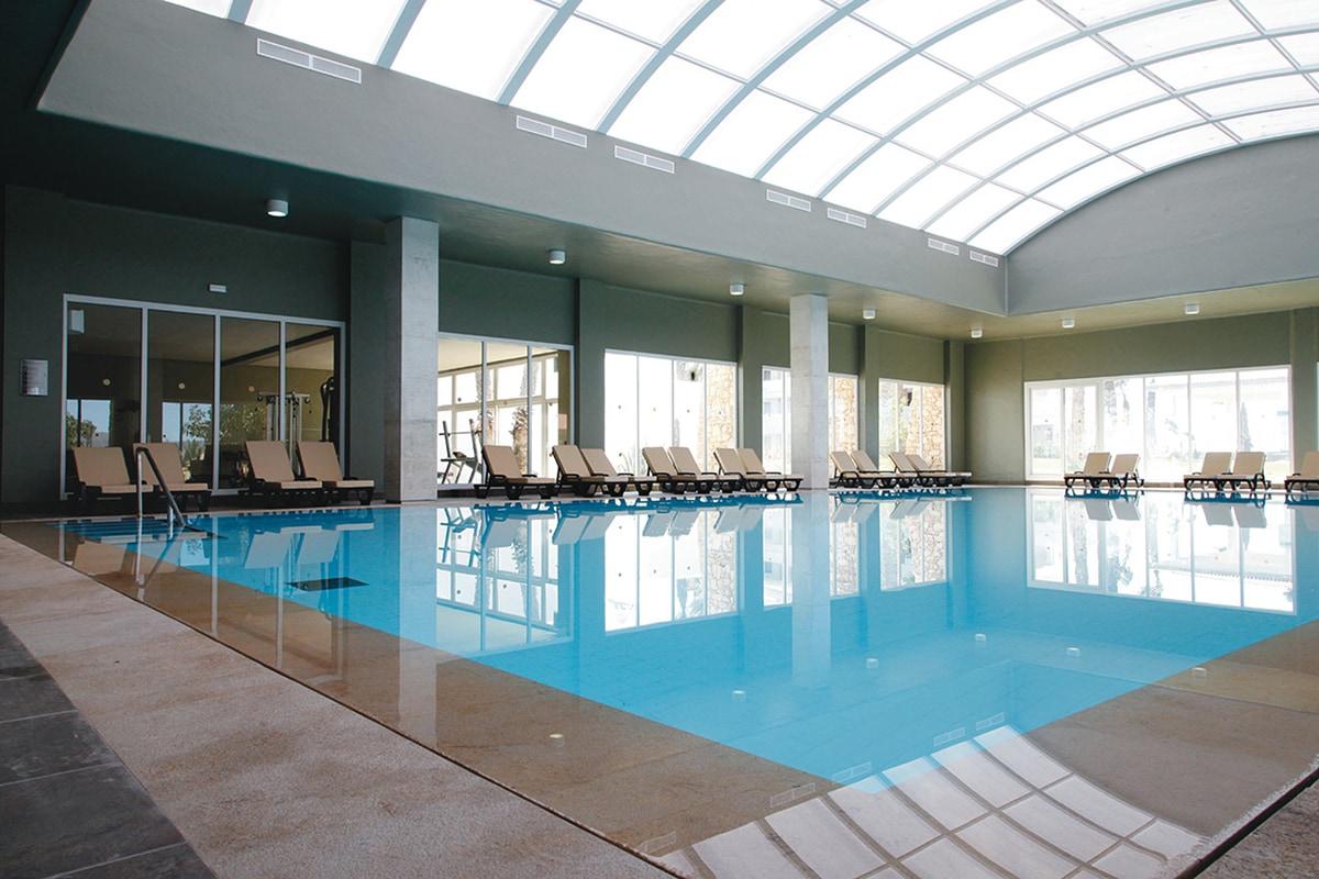 MARATDU8 piscine interieure club hotel riu tikida dunas sejour agadir maroc tui