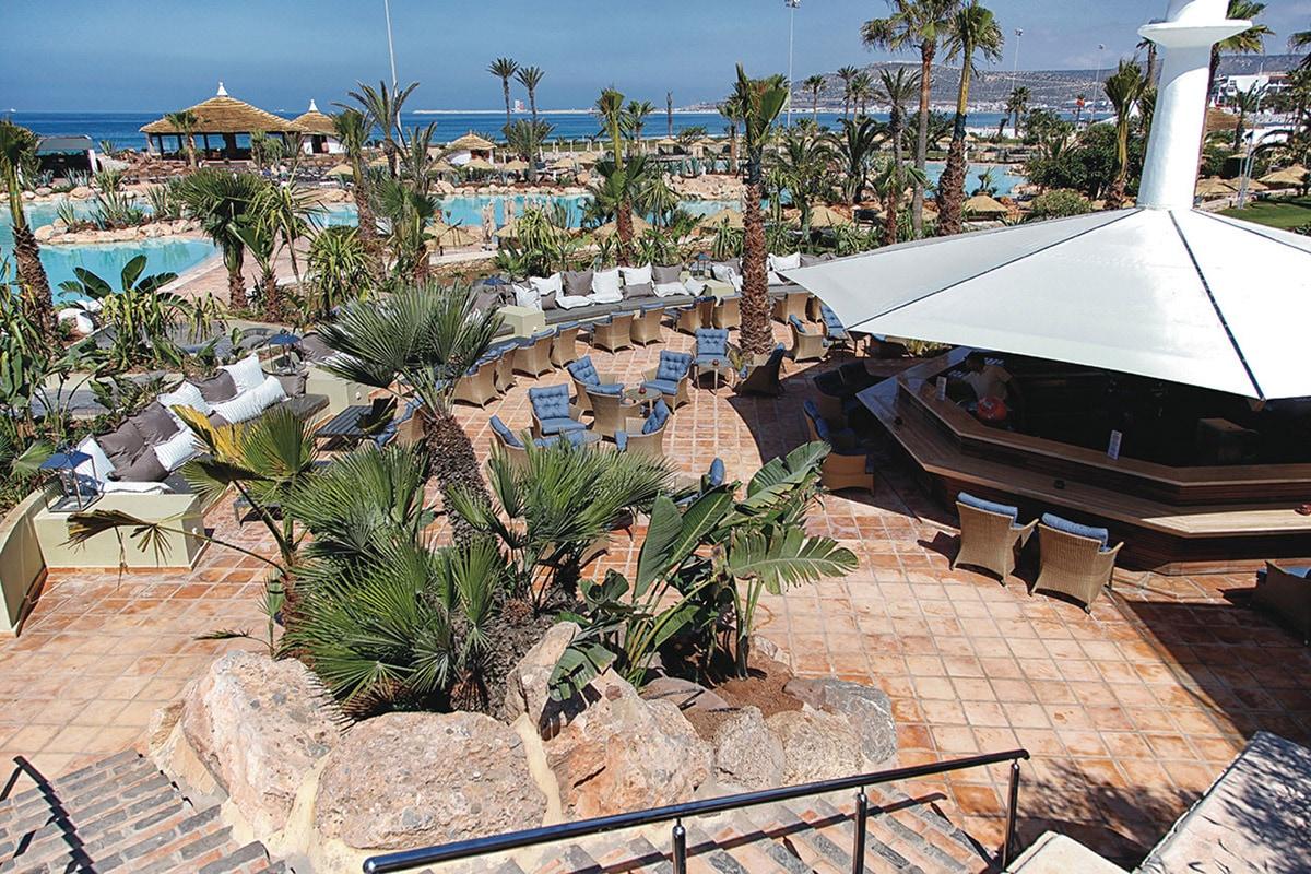 MARATDU8 terrasse club hotel riu tikida dunas sejour agadir maroc tui