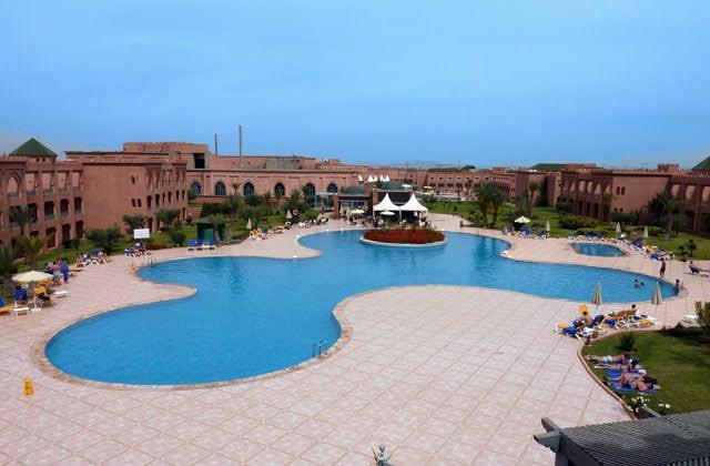 Piscine de l'hôtel Ryad Mogador Agdal