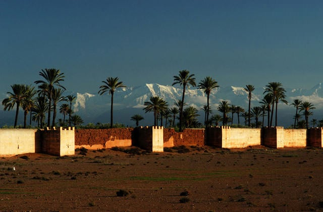 Remparts, Marrakech
