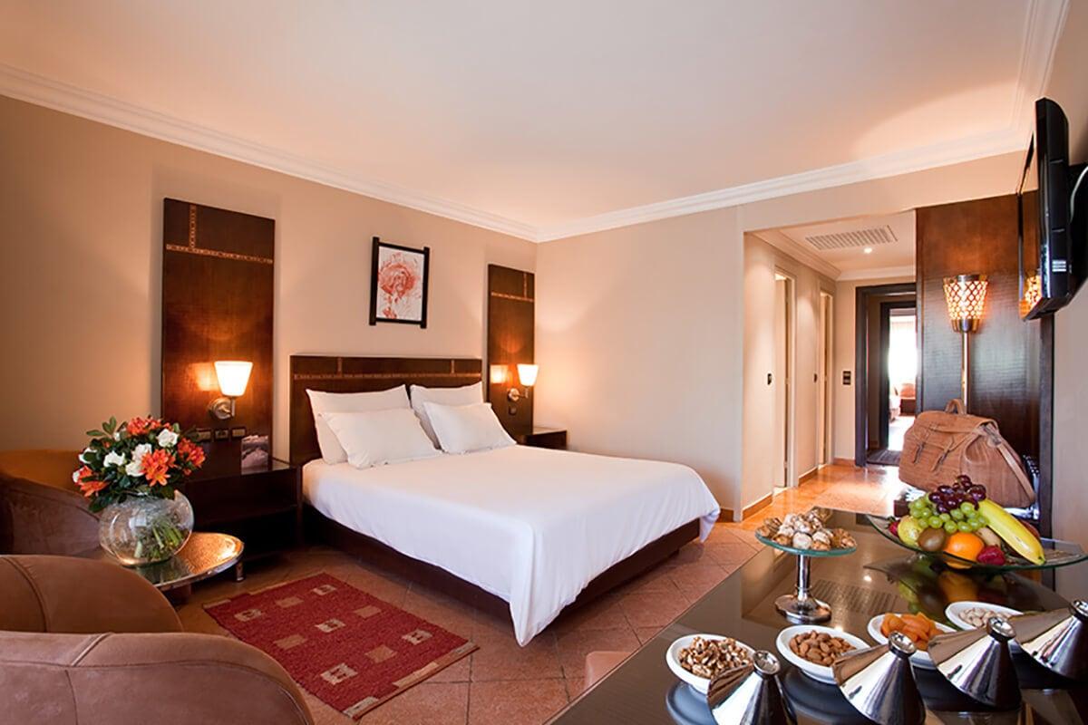 MARRKEN hotel kenzi farah urban chambre standard sejour maroc tui