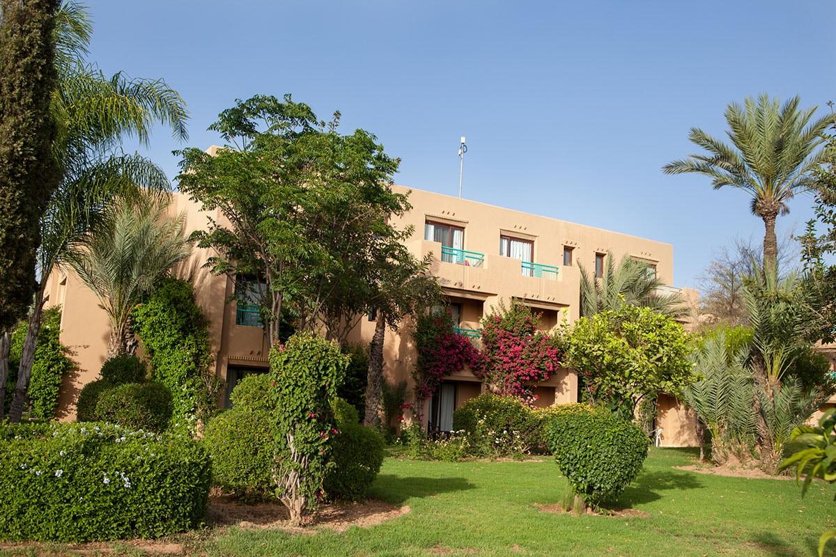 MARRMAD club marmara madina jardin batiment sejour maroc tui
