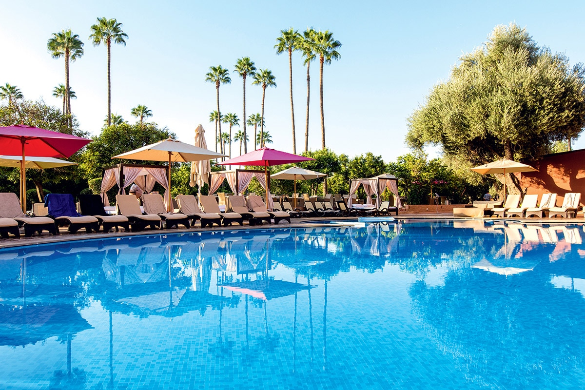 MARRMEG8 piscine sensimar medina gardens marrakech maroc tui