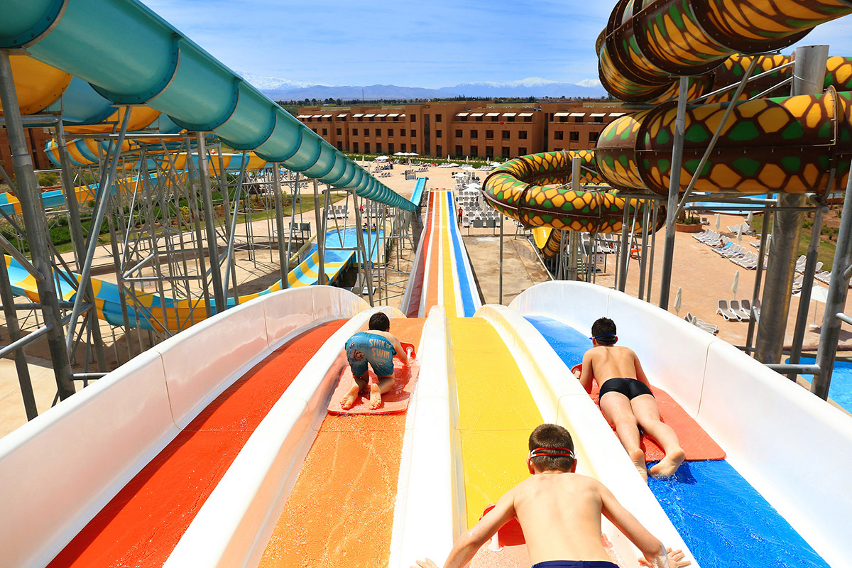 SPLASHWORLD Aqua Mirage - Vols réguliers
