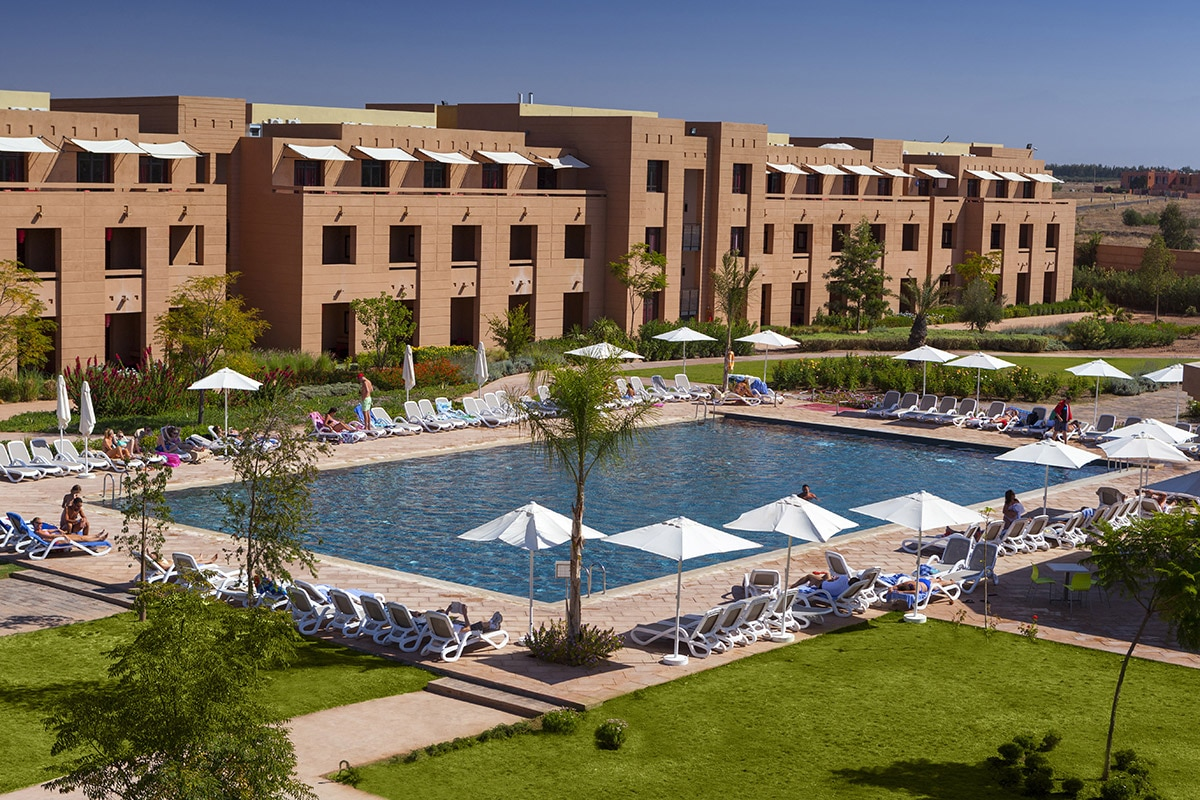 MARRMIR8 splashworld aqua mirage piscine batiment sejour marrakech maroc tui