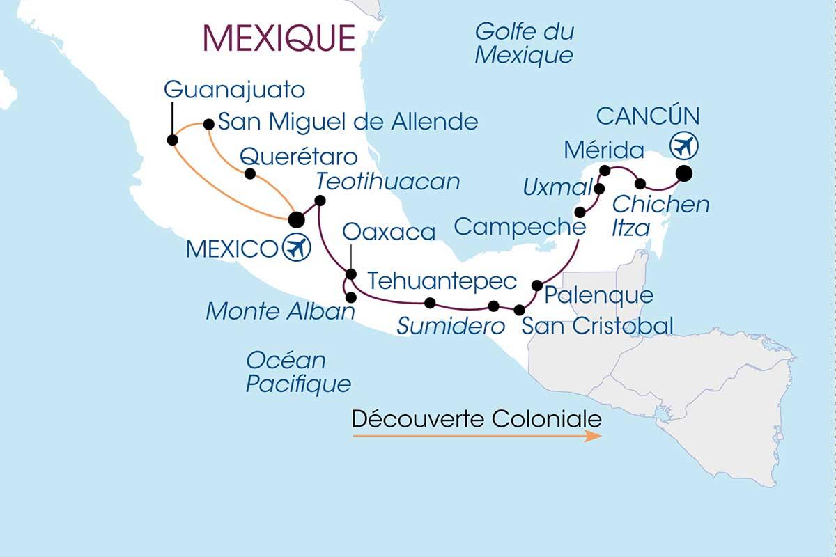 Circuit Mexique Authentique - Vols Air France