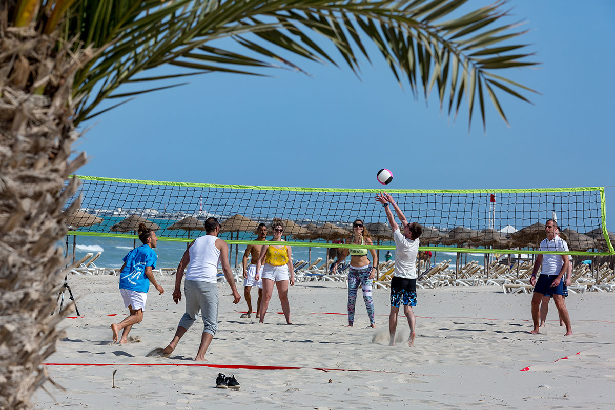 TNSDPALM beach volley club marmara palm beach sejour tunisie djerba tui