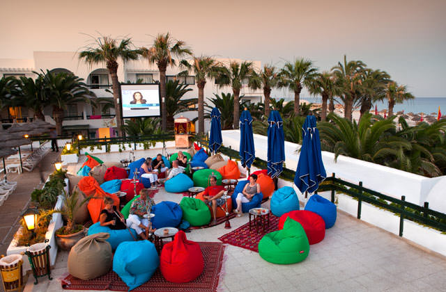 Salon du Club Marmara Hammamet Beach