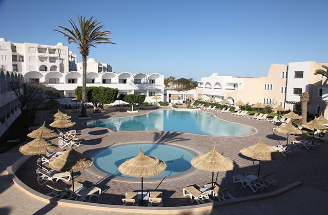 Piscine du Club Marmara Hammamet Beach