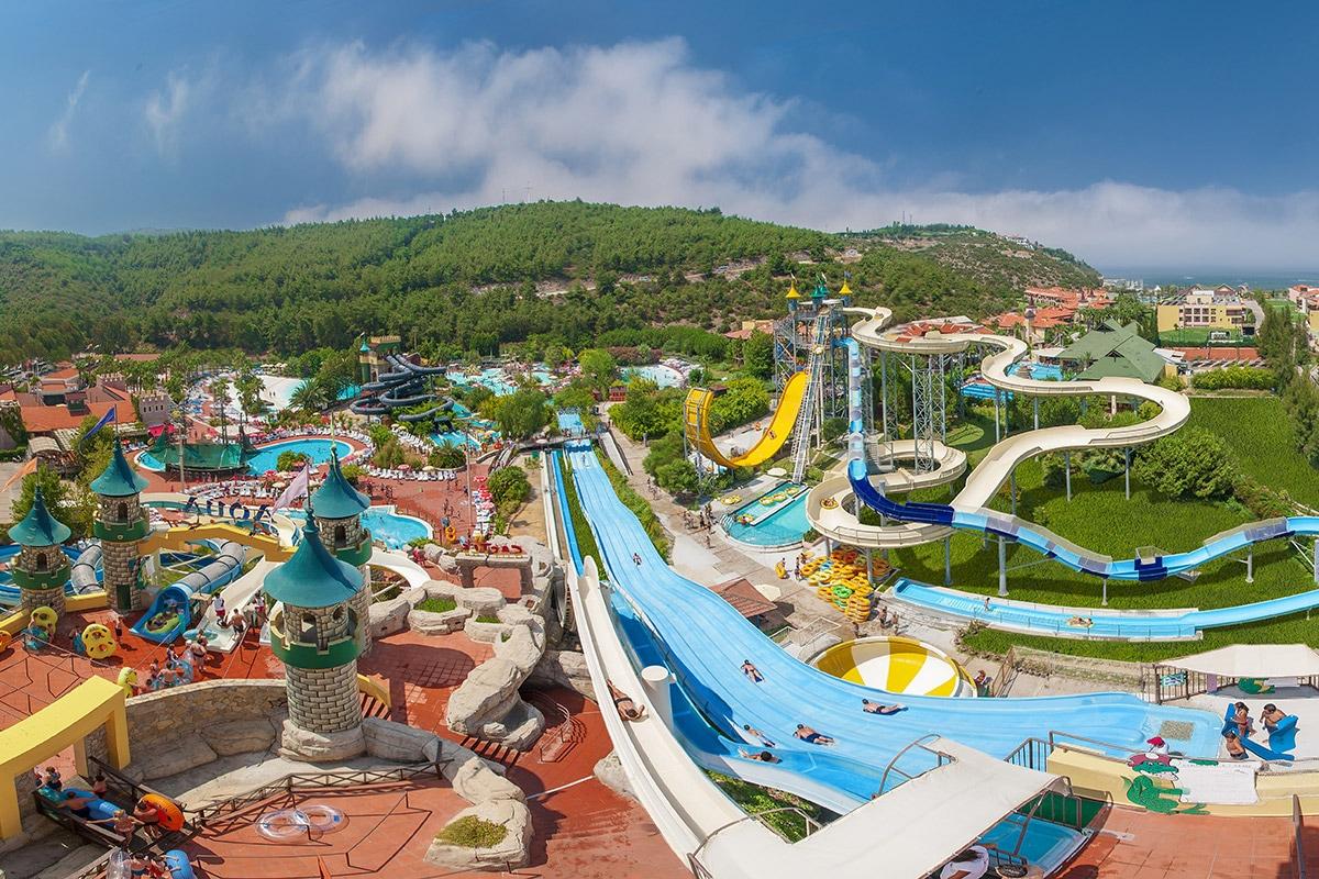 TURAAQU8 splashworld aqua fantasy vue panoramique sejour izmir turquie tui