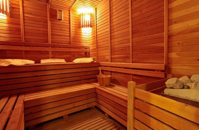 Sauna de l'hôtel Palm