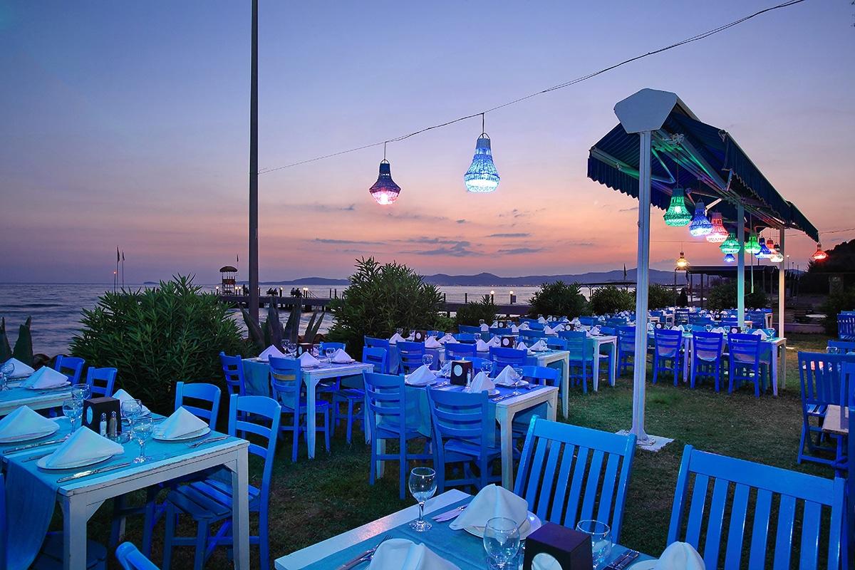 TURAYAL club marmara yali terrasse sejour au soleil tui