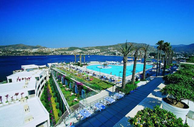 Hôtel Baia à Bodrum, Turquie