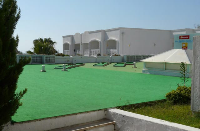 Mini-golf au Club Marmara Bodrum Bay