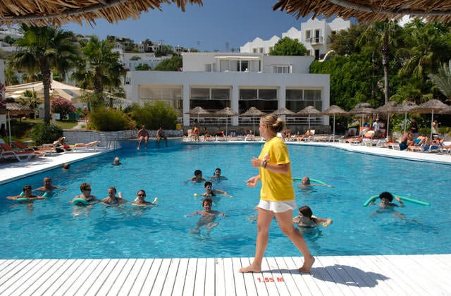 Aquagym au Club Marmara Bodrum Bay