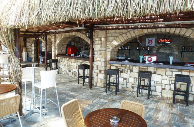 Bar plage du Club Marmara Bodrum Bay