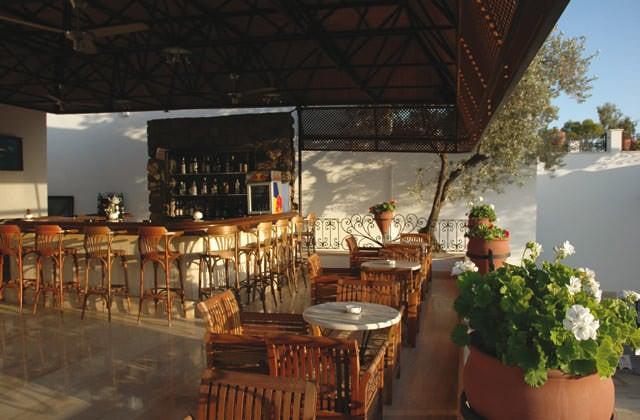 Bar sur le toit de l'hôtel Comca Manzara