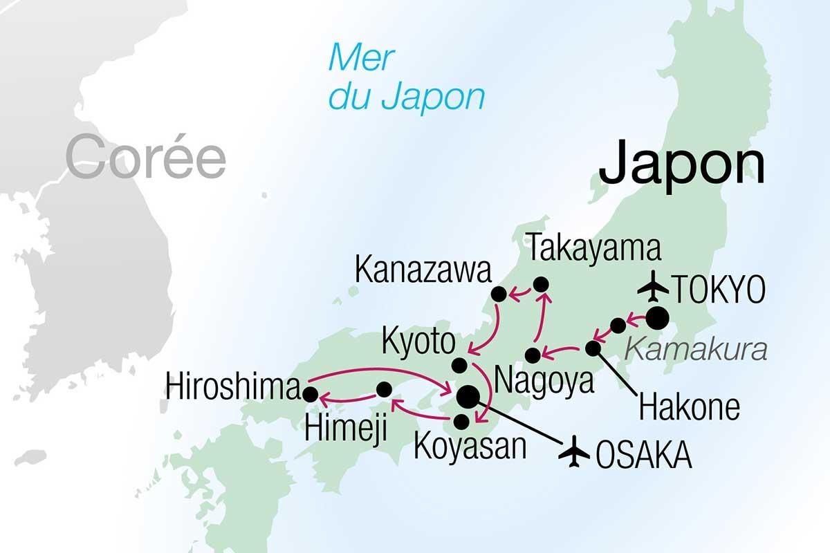 Circuit Japon, passé & présent