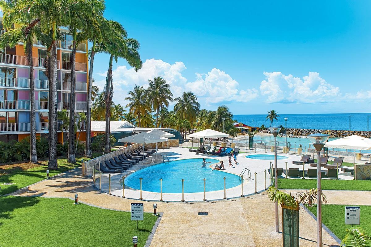 Hotels karibea beach resort gosier clipper et salako for Hotels guadeloupe
