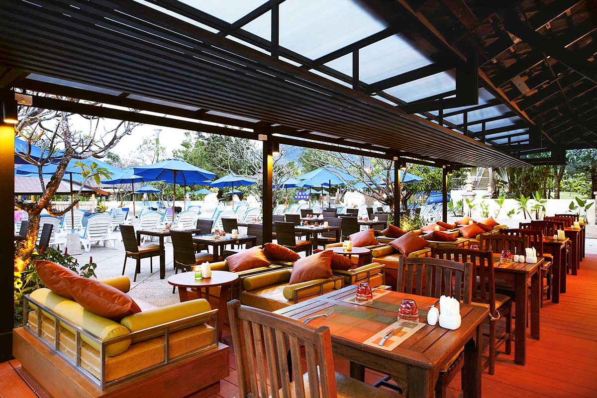 Restaurant bar piscine Rim Nam